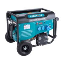 Heron benzinmotoros áramfejlesztő, max 6800 VA, egyfázisú, önindítós (8896421)