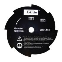 94034 GÜDE vágótárcsa 255x25,4x1,4 mm