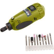 Extol Craft mini köszörű és fúrógép, 15.000 ford/perc, befogás: 3,2mm, max. fejátmérő: 35mm