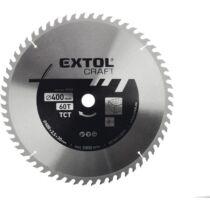 Extol Craft körfűrészlap, keményfémlapkás, 250x30xT60