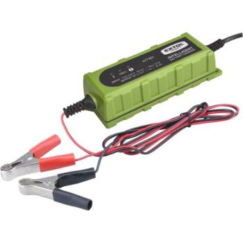 Extol Craft akkutöltő, autós, mikroprocesszoros, intelligens; 1 Amp, DC 12V/6V (417301)