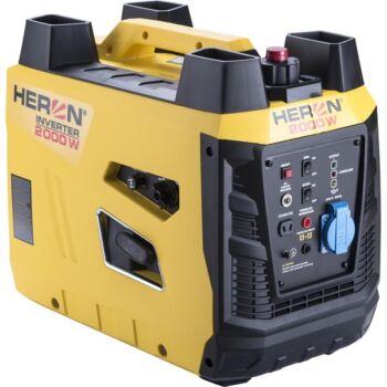 Heron benzinmotoros áramfejlesztő, 2,0 kVA, 230V, digitális szabályzással - 8896219