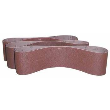 41187 Güde csiszolószalag szett, 915x100 mm, 3 részes (P60, P80, P100)