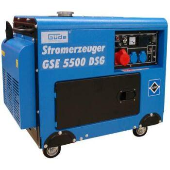 40586 - Güde GSE 5500 DSG diesel aggregátor