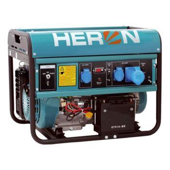 Heron EGM-68 AVR-1E benzinmotoros áramfejlesztő önindítóval (8896121)