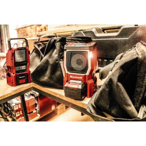 Einhell TE-CR 18 Li Solo Akkumulátoros rádió, Power-X-Change (3408015)