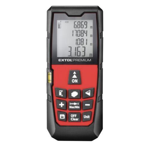 Extol Prémium digitális távolságmérő lézeres, max. 40 m (8820042)