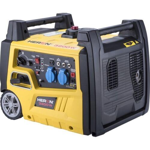 Heron benzinmotoros áramfejlesztő, 3,0 kVA, 230V, digitális szabályzással - 8896221