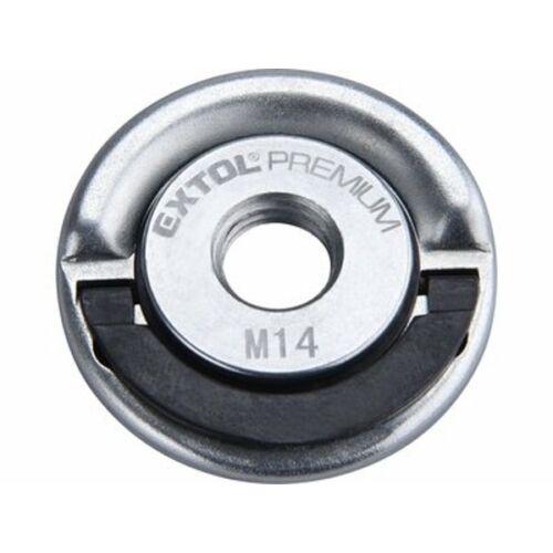 Extol Prémium gyors szorítóanya sarokcsiszolóhoz; M14 (8898050)