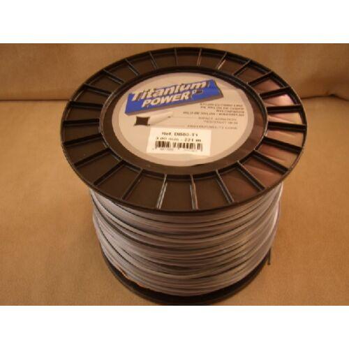 Titanium Power damil 2,5 0mm/318 m négyszög