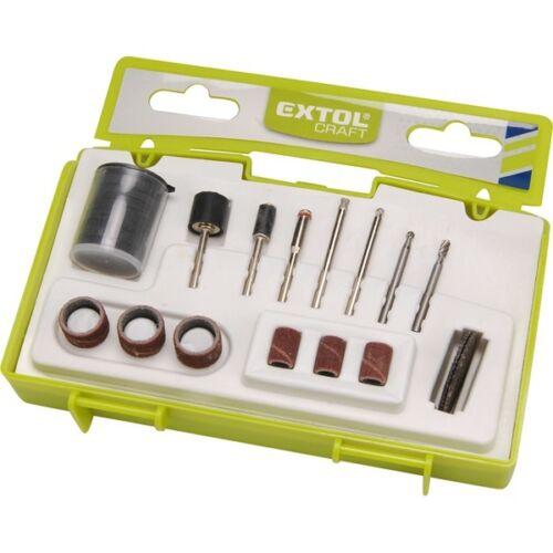 Extol Craft mini köszörű-, vágó-, daraboló- és csiszolófej tartozék klt.