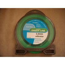 Damil 2,7 mm x 90 m zöld, kör keresztmetszet