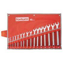 Fortum csillag-villás kulcs klt. 16 db, 6-24 mm