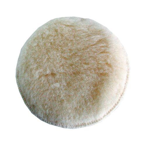 Extol polírkorong, fehér, báránybőr; 125 mm (10624)