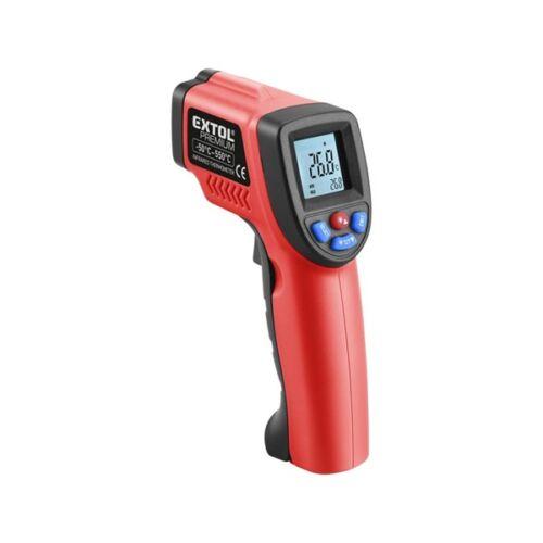 Extol Prémium infravörös, digitális hőmérő, -50°C~ +550°C, LCD kijelző (8831302)