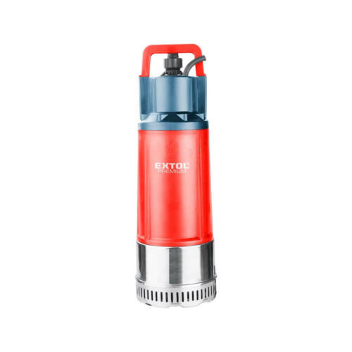 Extol Prémium búvárszivattyú tiszta vízhez, nyomás szenzorral, 1200W, szállító teljesítmény: 6m3/h, max. száll. 40 m