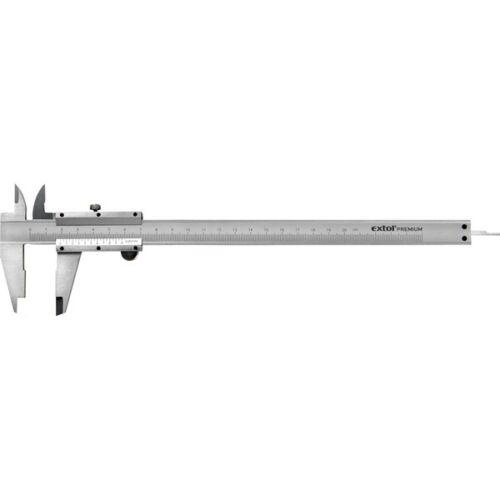Extol Prémium tolómérő INOX mélységmérővel 200 mm (3422)